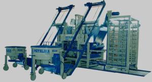 betongyártó gép