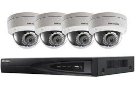 Biztonság IP kamera rendszerrel