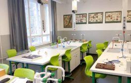 Az iskolák és laborok berendezései