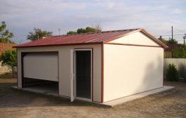 Könnyűszerkezetes garázsok és épületek kivitelezése