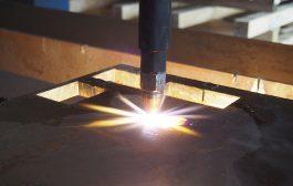 CNC lángvágás nagy vastagságban is