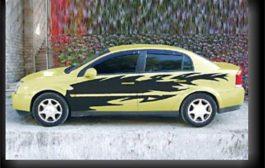 Dekoráció autófóliákkal