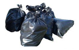 Strapabíró és újrahasznosított szemeteszsák
