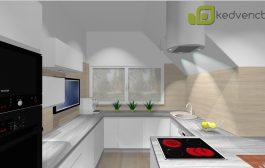 Bízza ránk a konyhabútor látványterv készítését!